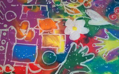 Zajęcia terapii kreatywnej w DPS-ach