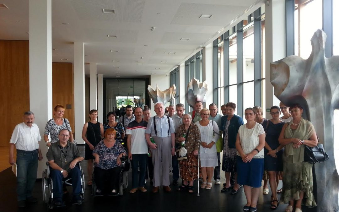 Wycieczka do ECM w Lusławicach