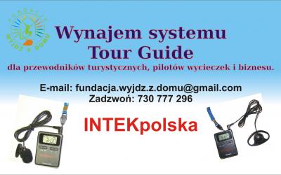 Wynajem systemu Tour Guide